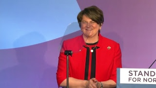 DUP Conference: Arlene Foster says Theresa May should