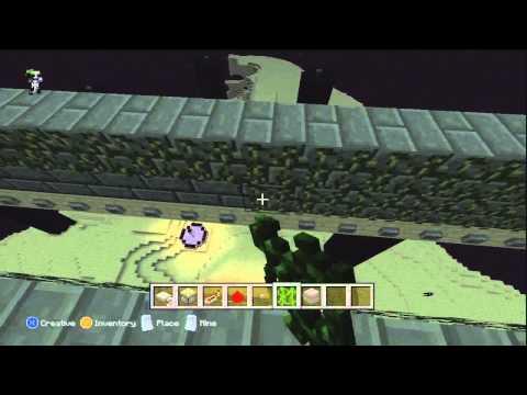 Minecraft Xbox 360 Edition: Endermen XP Farm Tutorial