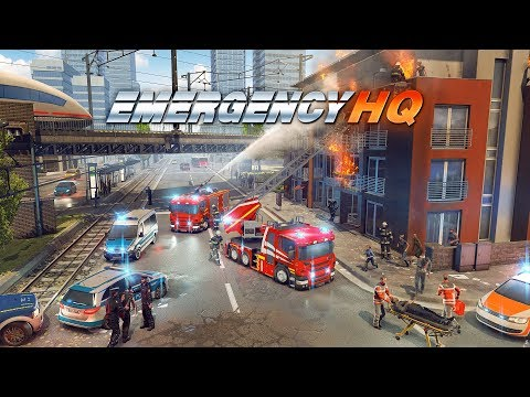 EMERGENCY HQ - the new free EMERGENCY mobile game!