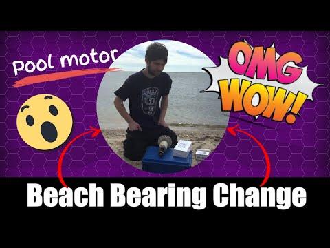 Pool motor bearing pullers on sale