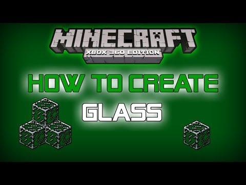 Minecraft Xbox 360/PS3 - How to Create Glass