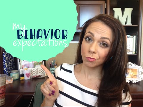 Behavior Expectations for Middle School Classrooms