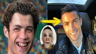 #x202b;هكذا كانت عمليات التجميل التي قام بها لاعبي كرة القدم - والتغيرات لا يمكن تصديقها..!!#x202c;lrm;