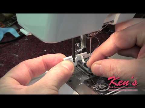 How to use the Janome Sewing Machine Needle Threader