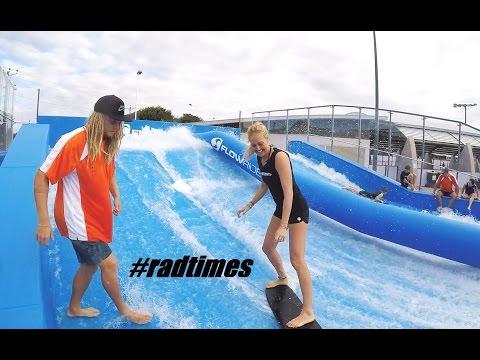 #radtimes Flowrider, Go Karts and smashing Golf Balls. Cairns, Australia