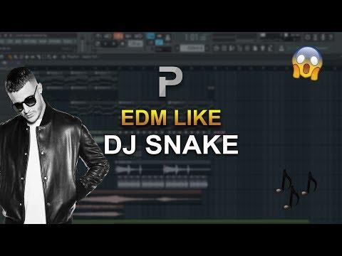 HOW TO MAKE: EDM Like DJ SNAKE - FL Studio tutorial
