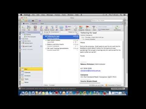 How to Add HTML email signature to Outlook 2011 on a Mac