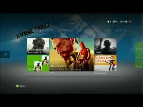 2012|How to make a custom theme for Xbox 360 QUICK AND EASY!