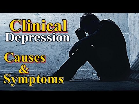 Clinical depression | signs of depression | depression symptoms