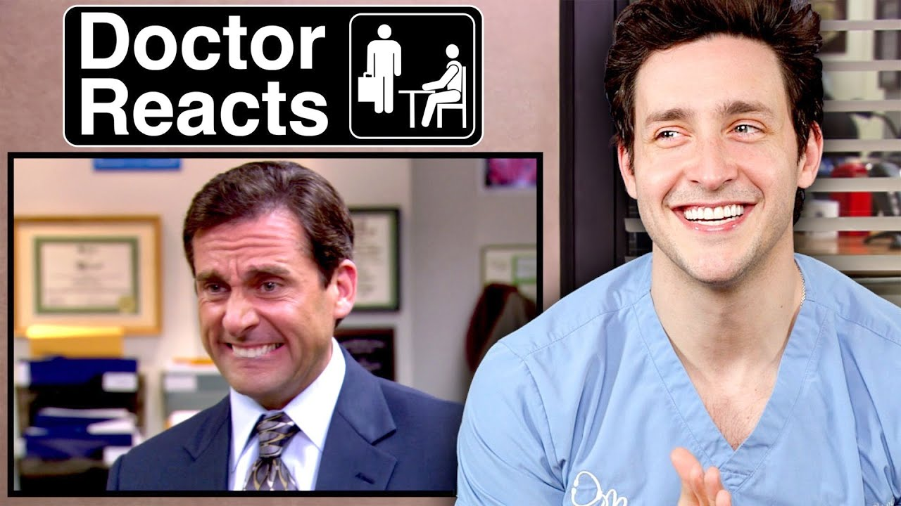 """Doctor Reacts To """"The Office"""" Medical Scenes"""