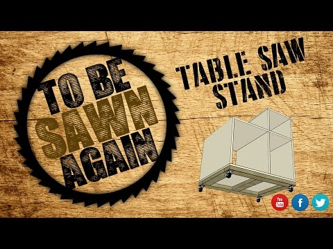 Building a Table Saw Stand