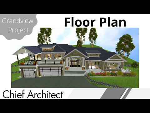 Creating the Main Floor Plan – Grandview Build project