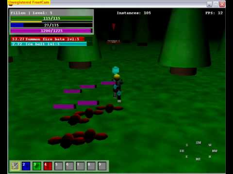Game maker 3D RPG game