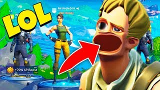 He Put What In His Mouth?! (pretending To Be A Default In Fortnite)