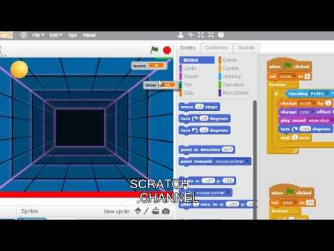 how to make a ping pong game using scratch 2
