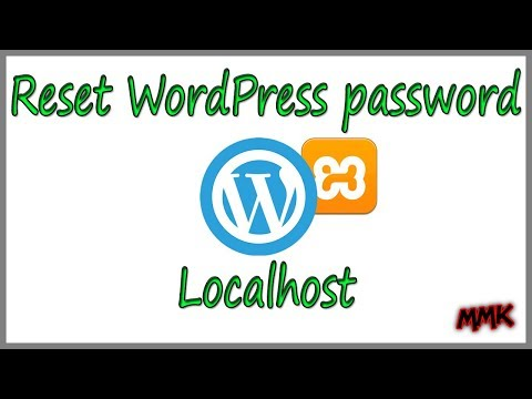 How to Reset WordPress Password on Localhost