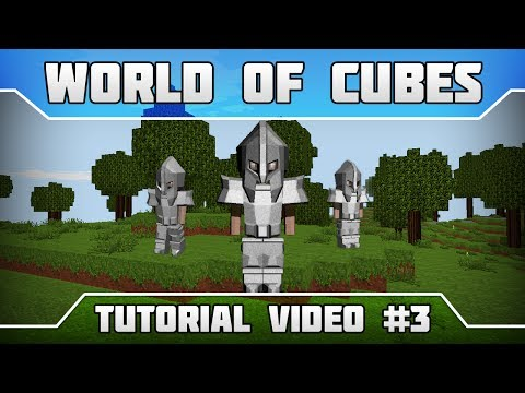 WoC Tutorials: How to Craft Iron Armor in Survival Mode