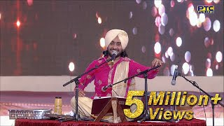 SATINDER SARTAAJ Performing LIVE at PTC Punjabi Music Awards 2016 | PTC Punjabi