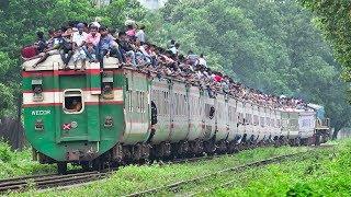 Eid Festival Rush on Rangpur Express Train-  Bangladesh Railway