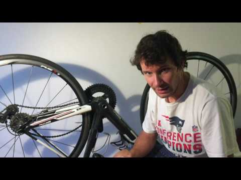 How to replace a Shimano 105 Crankset