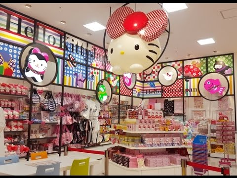 Review : Hello Kitty shops in Tokyo