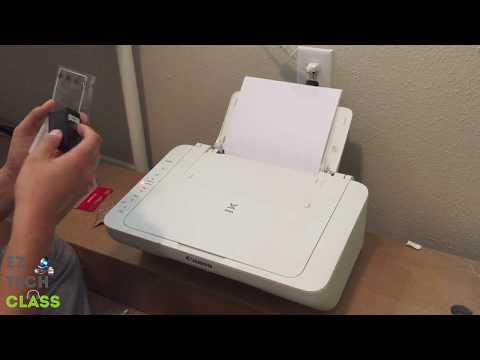 How to replace ink cartridge for Canon Pixma MG2920 printer | EZ TECH CLASS
