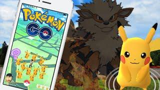 Pokemon GO : 精靈寶可夢GO ➲ 皮卡丘大量出沒 / 稀有Pokemon人潮湧現