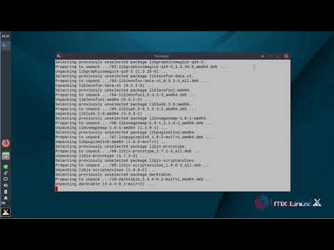 How to install Darktable on MX Linux 17