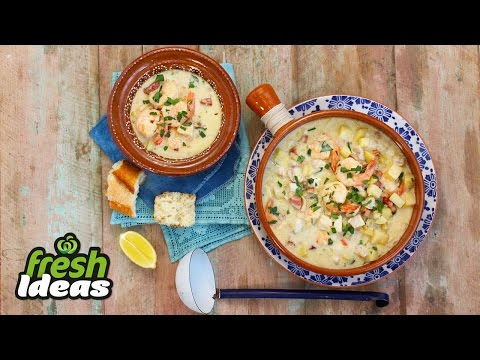 Easy Seafood Chowder Recipe | Woolworths