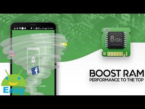 ฺBOOST RAM เพิ่มประสิทธิภาพการทำงานของมือถือ | Easy Android
