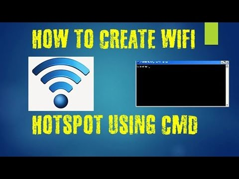 HOW TO CREATE WIFI HOTSPOT WITHOUT ANY SOFTWARE