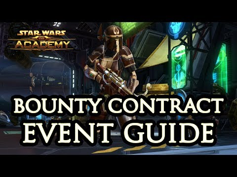 SWTOR Bounty Contract Week Guide - The Academy