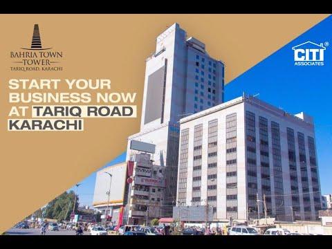 Few Glimpses of Bahria Town Tower Karachi