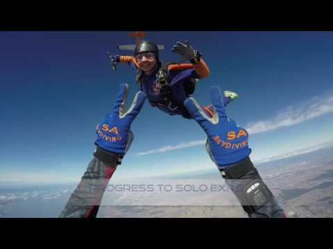 SA Skydiving, Adelaide - Learn, Develop, Excel, AFF Solo Skydiving Course