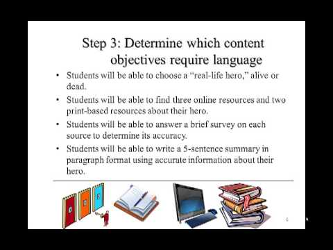 LO 1 Steps for Developing Language Objectives