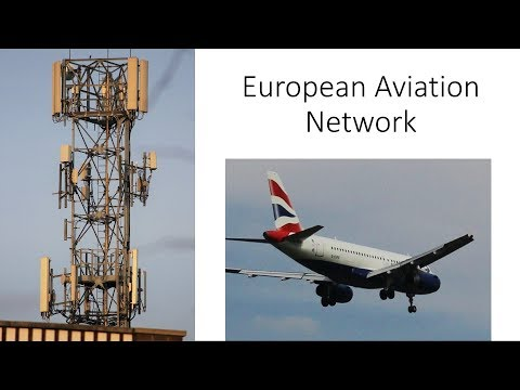 European Aviation Network (EAN) Explained with Ground Based Mast Example