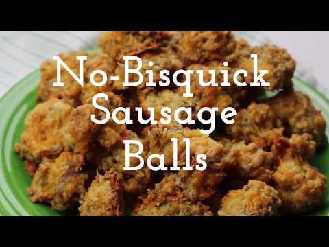No-Bisquick Sausage Balls