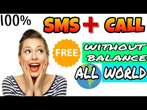 Make unlimited free calls and SMS without sim balance