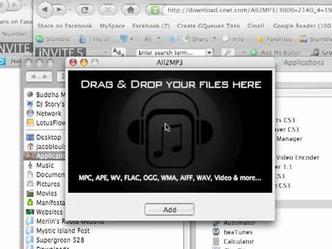 Convert WMA to MP3 for Free (Mac OS X 10.4 and Up)