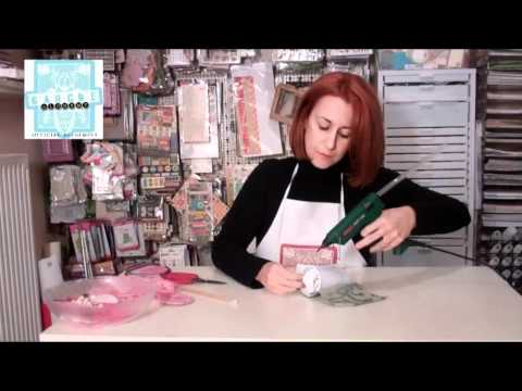 how to create a top hat out of recycling material and mixed media