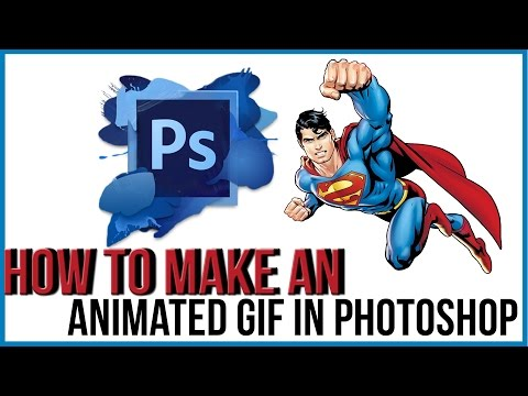 How To Make an ANIMATED GIF in Photoshop - Photoshop Tutorial