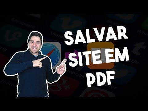 Como salvar sites do Safari em PDF no iPad e iPhone (iOS tutorial)