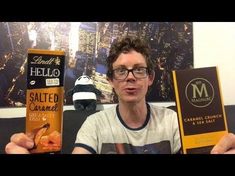 Salted Caramel von Hello Lindt vs. Magnum Caramel Crunch Sea Salt - Wer schmeckt besser?