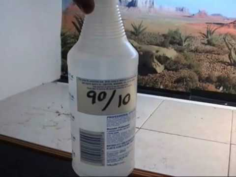 How I disinfect my Bearded Dragon enclosures Part 1of2