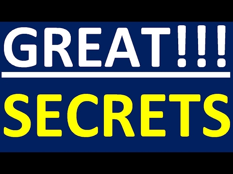 GREAT SECRETS - HOW TO LEARN ENGLISH EASILY AND EFFECTIVELY. ENGLISH SPEAKING PRACTICE
