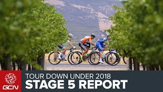 Tour Down Under 2018 | Stage 5 Report