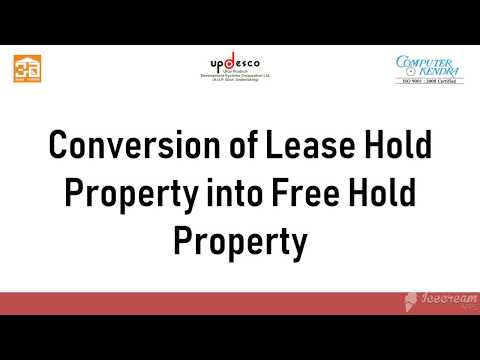 Online Leasehold to Freehold your property under Janhit Guarantee Adhiniyam