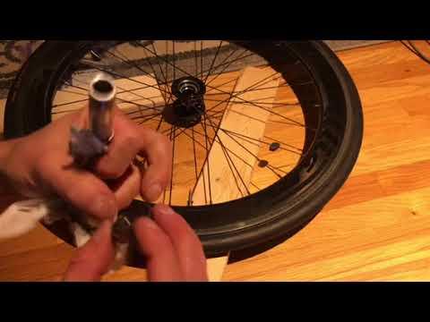 Rear wheel bearing replacement