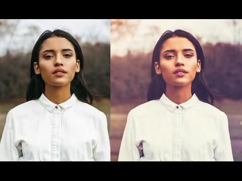 Soft Light Warm Color Effect - Photoshop Tutorial