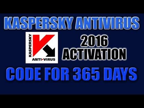 Kaspersky Antivirus 2016 Activation Code for 365 Days